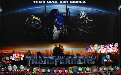 Thomas & Twilight's adventures of Transformers