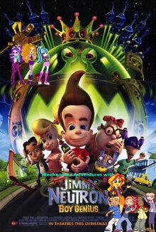 Weekenders Adventures with Jimmy Neutron Boy Genius