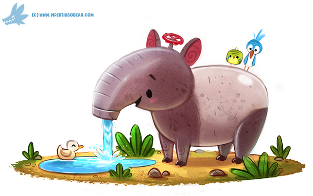 File:Daily paint 1187 tap ir by cryptid creations-d9sj9s2.png