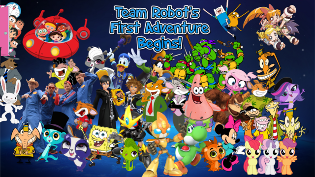 File:Team Robot's First Adventure Begins Poster 2.png