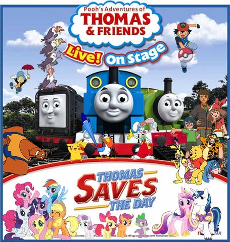 File:Pooh's Adventures of Thomas and Friends Live on Stage - Thomas Saves the Day Poster.jpg