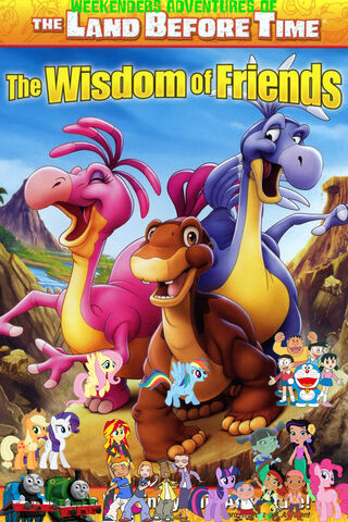 File:Weekenders Adventures of The Land Before Time 13- The Wisdom of Friends (remake poster).jpg