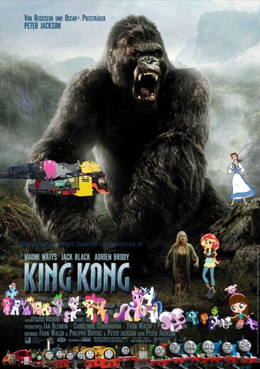 Thomas and Twilight Sparkle's Adventures of King Kong