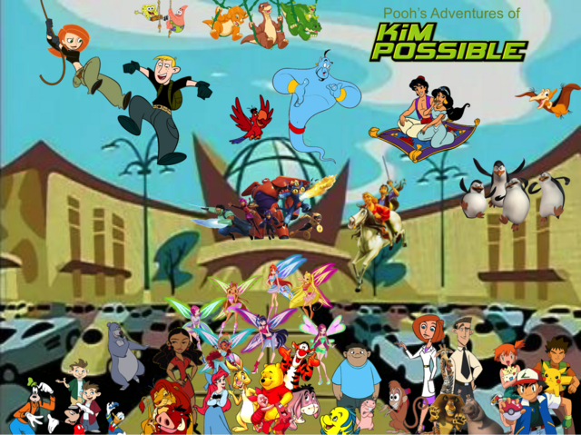 File:Pooh's Adventures of Kim Possible Season 1 Poster (Zoomix).png