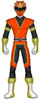 25. Vermillion Data Squad Ranger