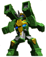 Rumble Tusks Zord (Humanoid Form)