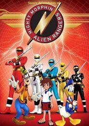 Sora's Adventures of Mighty Morphin Alien Rangers poster