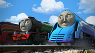 Flying Scotsman with Shooting Star