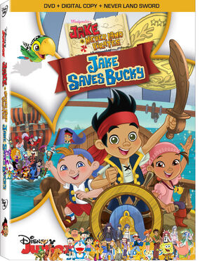 Weekenders, Jake and the Never Land Pirates- Jake Saves Bucky