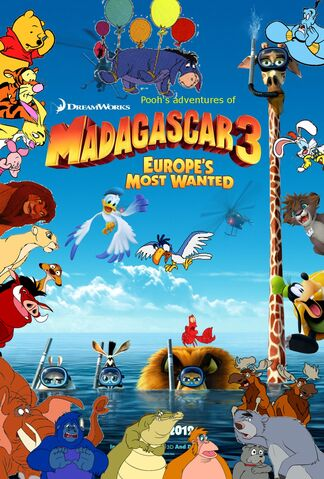 File:Pooh's adventures of Madagascar 3 Europes Most Wanted poster.jpg
