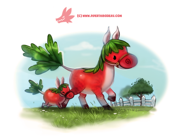 File:Daily paint 1272 horseradish by cryptid creations-da2r9i8.png