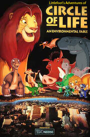 Littlefoot's Adventures of Circle of Life Poster