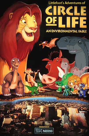 File:Littlefoot's Adventures of Circle of Life Poster.jpg
