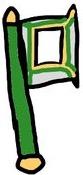Green Honesty Slasher Axe