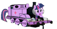 Twilight as a Thomas character