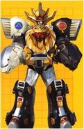 Wild Force Megazord Double Knuckle Mode