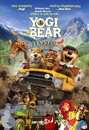 Winnie the Pooh Meets Yogi Bear Poster