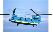 Wonderbolts Chinook chopper
