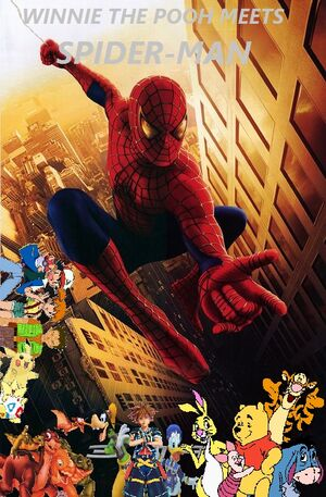 Winnie the Pooh meets Spider-Man (2002) poster