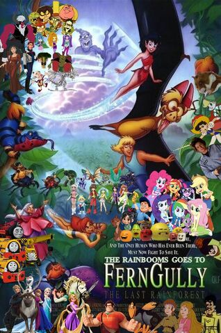 File:The Rainbooms Goes to FernGully - The Last Rainforest poster.jpg