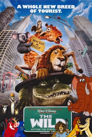 File:Simba, Timon, and Pumbaa's Adventures of The Wild poster.jpg