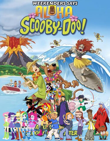 File:Weekenders Says Aloha Scooby Doo Poster.jpg