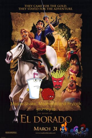 File:Master Shake, Meatwad, and Frylock's journey to The Road to El Dorado.jpg