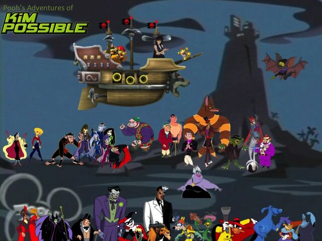 File:Pooh's Adventures of Kim Possible Villains Poster (with Dark Witch Trix).jpg