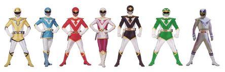Seven sky rangers