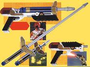 Zeo Laser Blade and Zeo Laser Pistol
