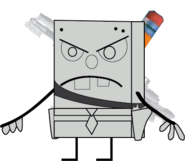 DoodleBob (with his weapons)