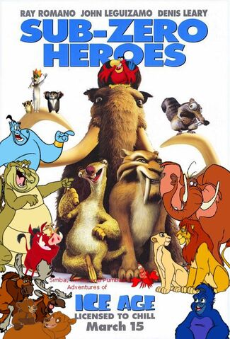 File:Simba, Timon, and Pumbaa's Adventures of Ice Age Poster.jpg