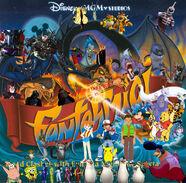 Winnie the Pooh in Fantasmic! (Walt Disney World version) poster version 2