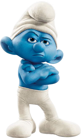 File:Grouchy Smurf.png