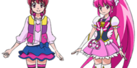 Cure Lovely and Cure Princess