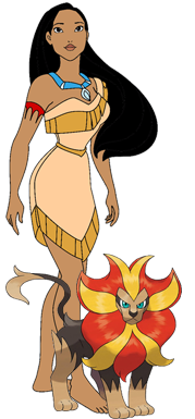 File:Pocahontas with her pyroar.png