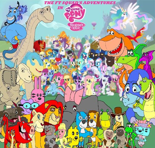 File:The FT Squad's Adventures in My Little Pony Friendship is Magic.jpg