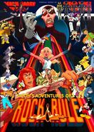 Pooh's Adventures of Rock and Rule Poster