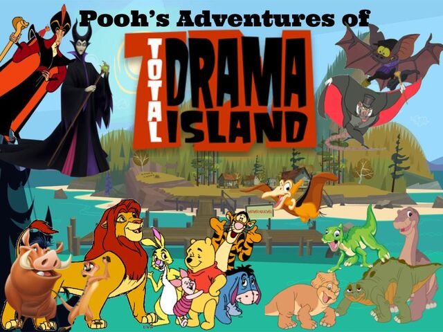 File:Pooh's Adventures of Total Drama Island Poster (Remake).jpg
