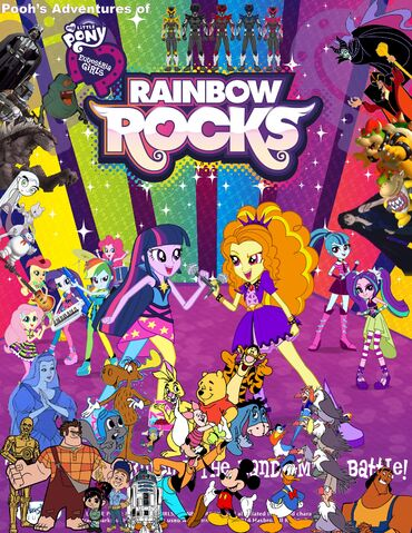 File:Pooh's Adventures of My Little Pony - Equestria Girls - Rainbow Rocks Poster.jpg
