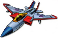 Starscream G1 jet