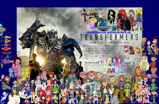 Weekenders Adventures of Transformers- Age of Extinction-0