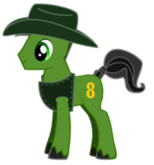 Duck as a pony