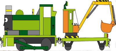 Steam Excavator