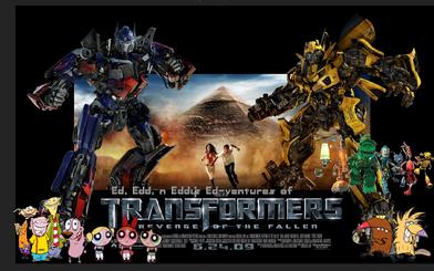 Ed, Edd, n Eddy's Ed-ventures of Transformers II