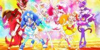 The KiraKira PreCure A la Mode Team