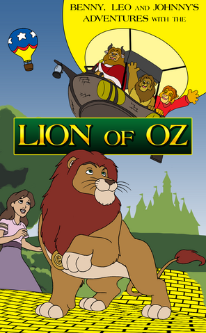 File:Benny, Leo and Johnny Lion of Oz poster.png