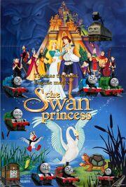 Thomas the Tank Engine meets the Swan Princess Poster