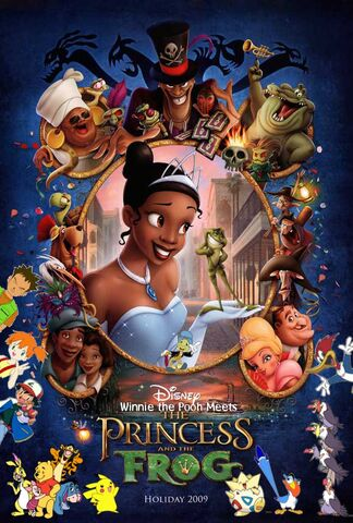 File:Winnie the Pooh Meets The Princess and the Frog Poster.jpg