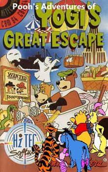 Pooh's Adventures of Yogi's Great Escape Poster
